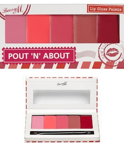 Barry M Pout 'N' About Vegan-Friendly Gloss Palette