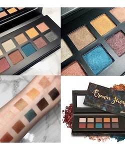 Barry M Crown Jewels Limited Edition VEGAN Metallic Eye Palette