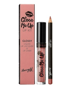 Barry M Gloss Veganfriendly Matte Me Up Lip Paint Kit-Femme