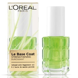 L'Oreal Le Base Coat Strengthening Peppermint oil
