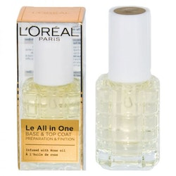 L'Oreal Le All in one Base & Top Coat with rose oil