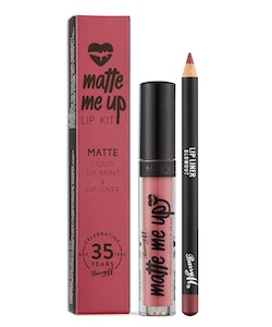 Barry M Veganfriendly Gloss Matte Me Up Lip Paint Kit-Blowout