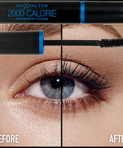 Max Factor Calorie 2000 Volume Waterproof Mascara - Black Brown