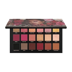 Huda Beauty Rose Gold 18 Remastered Textured Eye Shadows Palette