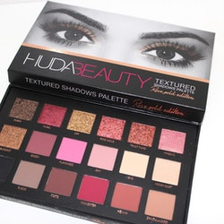 HUDA Beauty Rose Gold Edition 18 Textured Eye Shadow Xmas Palette