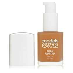 Models Own Runaway Oilfree SPF30 Foundation-10 Chestnut