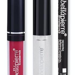 Bellapierre Kiss Transfer Liquid LipstickKit - Hibiscus