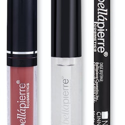 Bellapierre Kiss Transfer Liquid Lipstick Kit - Muddy Rose