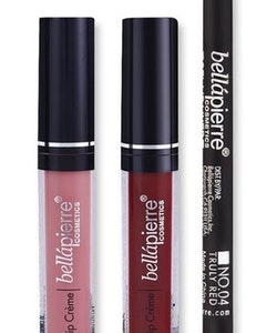 Bellapierre Ombre Kiss Liquid Lipstick Kit - 40's Red & Nude