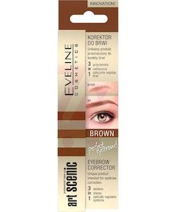 Eveline Art Scenic Brow Corrector 3 in 1 - Brown