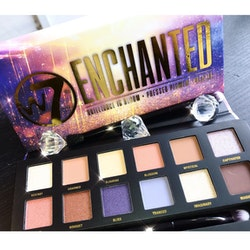 W7 Enchanted Pressed Pigment Palette