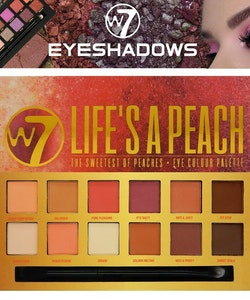 W7 Matte EyeShadow Palette - Life's A Peach