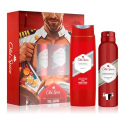 Old Spice Original Gift Set - Deodorant Spray 150ml & Shower Gel 250ml
