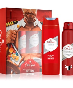 Old Spice Original Gift Set - Deodorant Spray 150ml & Shower Gel 250ml