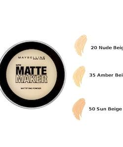 Maybelline Matte Maker Mattifying Powder - 50 Sun Beige