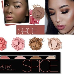 L. A. Girl Beauty Brick Blush Palette - Spice