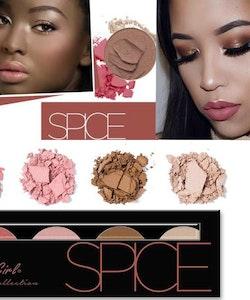 L. A. Girl Beauty Brick Blush Palette - Spice