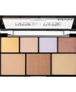 NYX Strobe of Genius Illuminating Palette - Multifunctional