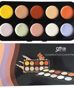 Saffron Concealer & Colour Corrector Large Palette
