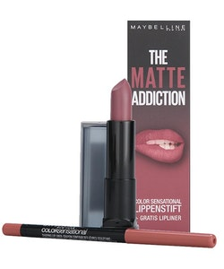 Maybelline The Matte Lip Kits -15 Smokey Taupe + 50Lipliner Dusty Rose