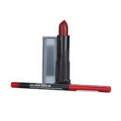 Maybelline The Matte Lip Kits -05 Cruel Ruby+90 Brick Red