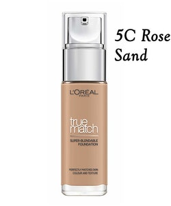 L'Oreal True Match super-blendable Perfecting Foundation SPF17 - 5.R/5.C Rose Sand