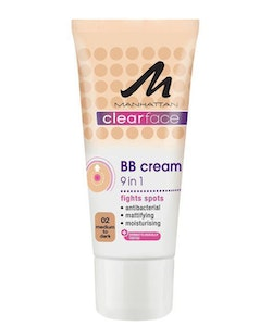 Manhattan Clearface BB Cream 9 in 1 Medium 30ml