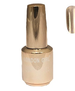London Girl MIRROR CHROME Metal Gel Large Polish-02 Red Chrome