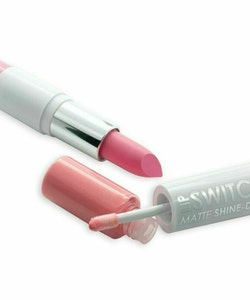 MUA Lip Switch Matte Shine Duo Lipstick Lip Gloss -Pink Candy