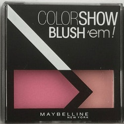 Maybelline Color Show Blush'em! Duo Blusher - Coral Rose Pink