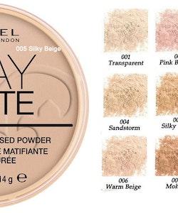 Rimmel Stay Matte Pressed Powder 001 Transparent