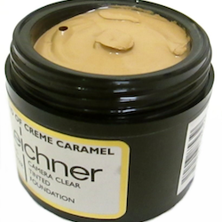 Leichner Camera Clear Tined Foundation-Blend of Caramel