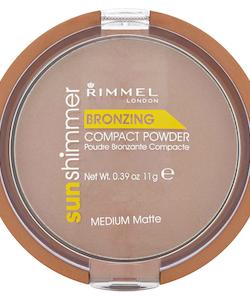 Rimmel Sun Bronzer Compact Powder - Medium Matte