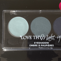 Love Thy Make Up London Eyeshadow Palette-Midnight