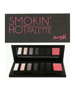 Barry M VEGAN Smokin' Hot Shadow & Blush Palette