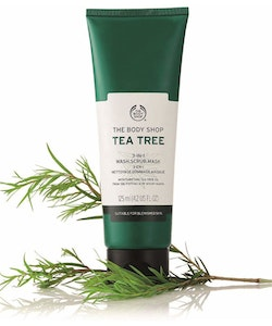 The Body Shop Tea Tree 3-in-1 Wash Scrub Mask - 125ml