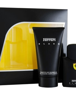 Ferrari Black Gift Set 75ml Eau De Toilette + 150mlShower Gel