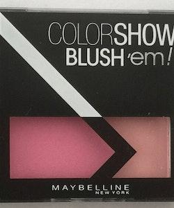 Maybelline Color Show Blush'em! Duo Blusher-Rose Petal Pink