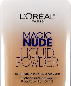 L'Oreal Nude Liquid Bare Skin Perfecting Makeup SPF18-Sand Beige