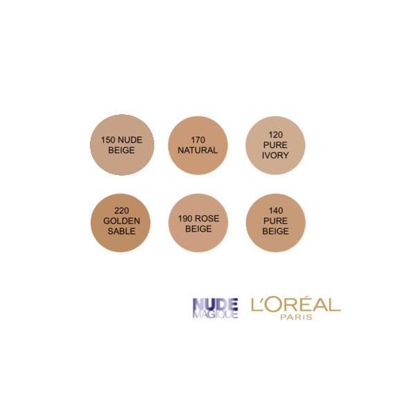L'Oreal Magic Nude Eau De Teint Fresh Foundation - Nude Beige
