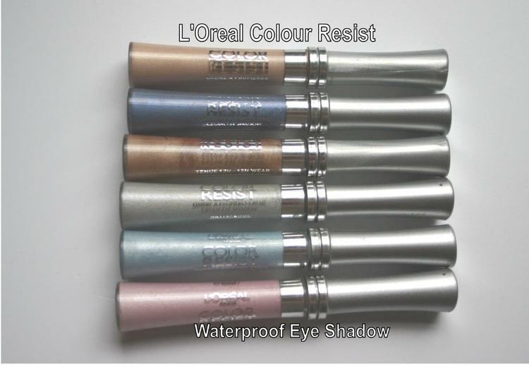 L'Oreal Color Resist WATERPROOF CREAM Eye Shadow - Baby Rose