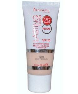 Rimmel Lasting Finish 25h Nude Foundation SPF20-Light Porcelain