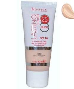 Rimmel Lasting Finish 25h Nude Foundation SPF20-Light Porcelain
