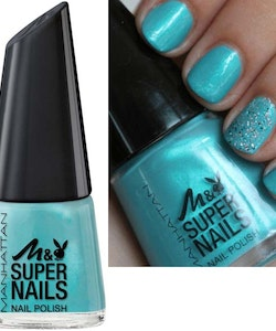 Manhattan Super Nail Polish - Aqua Sky