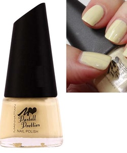 Manhattan Pastell Pretties Nail Care Polish-Pale Pastel Yellow
