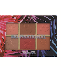 Technic Vegan Friendly Summer Vibes - SUNSATIONAL Face Palette