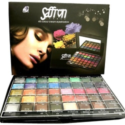 Saffron 48 Colour Cream Eyeshadow Set