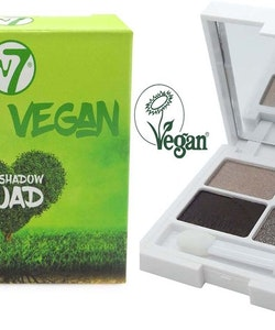 W7 VERY VEGAN Eyeshadow Quad-Warm Winters