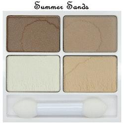 W7 VERY VEGAN Eyeshadow Quad-Summer Sands
