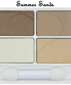 W7 VERY VEGAN Eyeshadow Quad-Summer Sand
